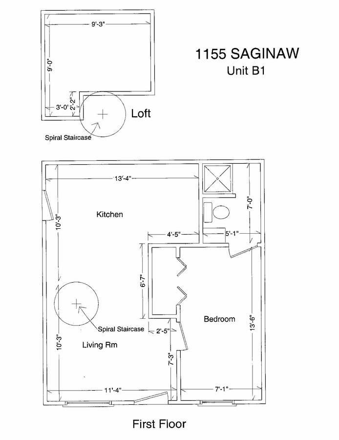 1 Bedroom 1 Bathroom House for rent at 1155 E. Saginaw in East Lansing, MI