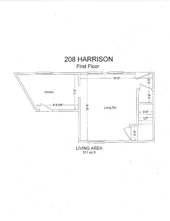 1 Bedroom 1 Bathroom Apartment for rent at 210 N. Harrison Rd in East Lansing, MI