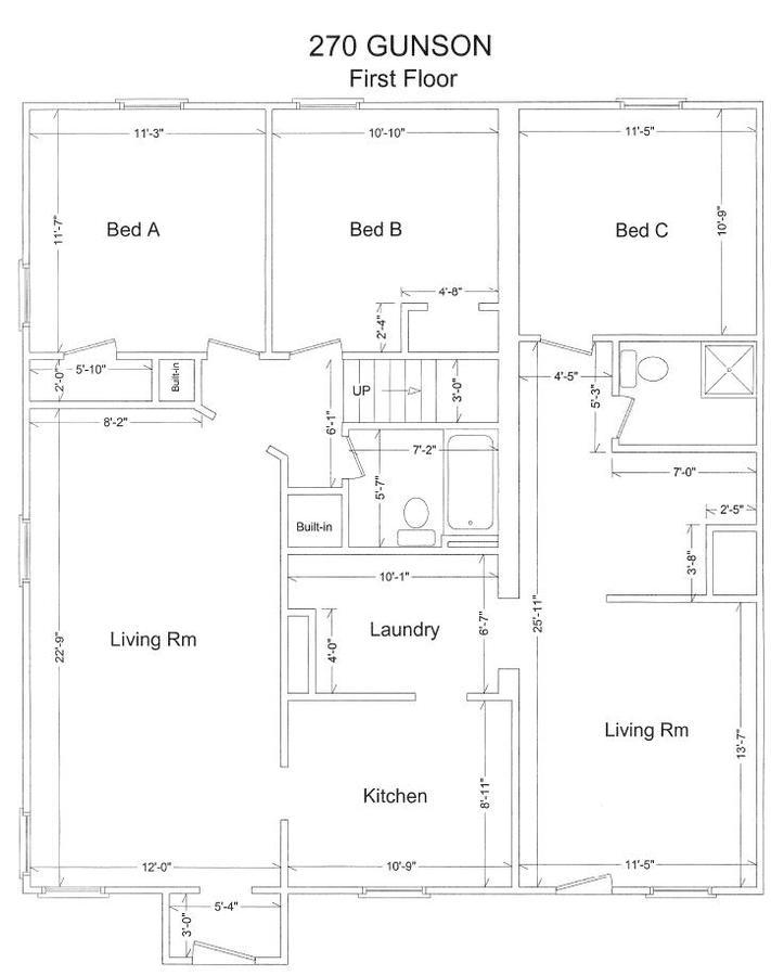 Studio 1 Bathroom House for rent at 223 Gunson St. in East Lansing, MI