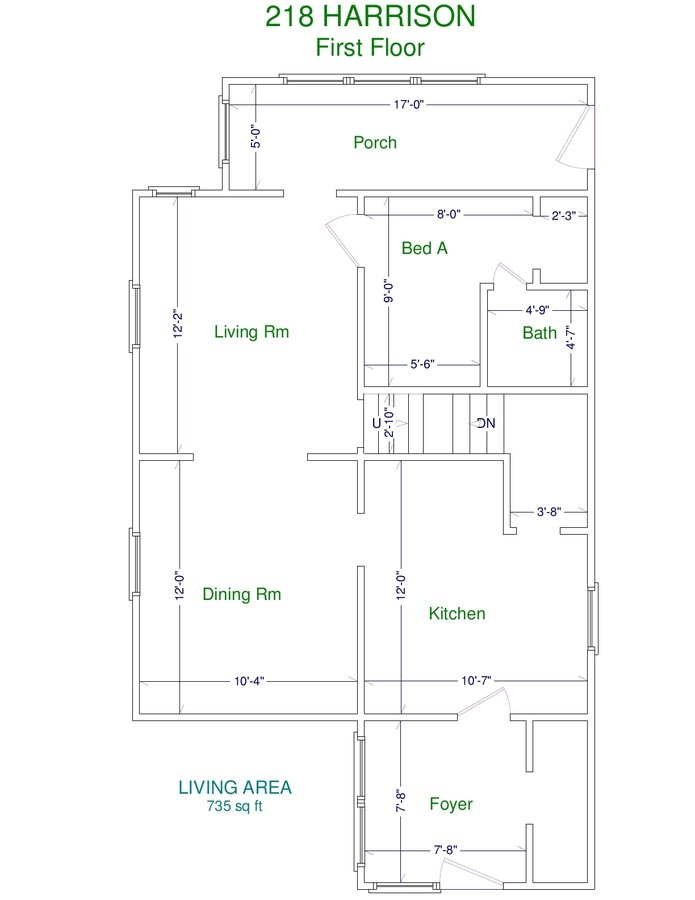 3 Bedrooms 1 Bathroom House for rent at 218 N Harrison Rd in East Lansing, MI