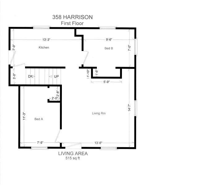 3 Bedrooms 1 Bathroom House for rent at 358 N Harrison Rd in East Lansing, MI
