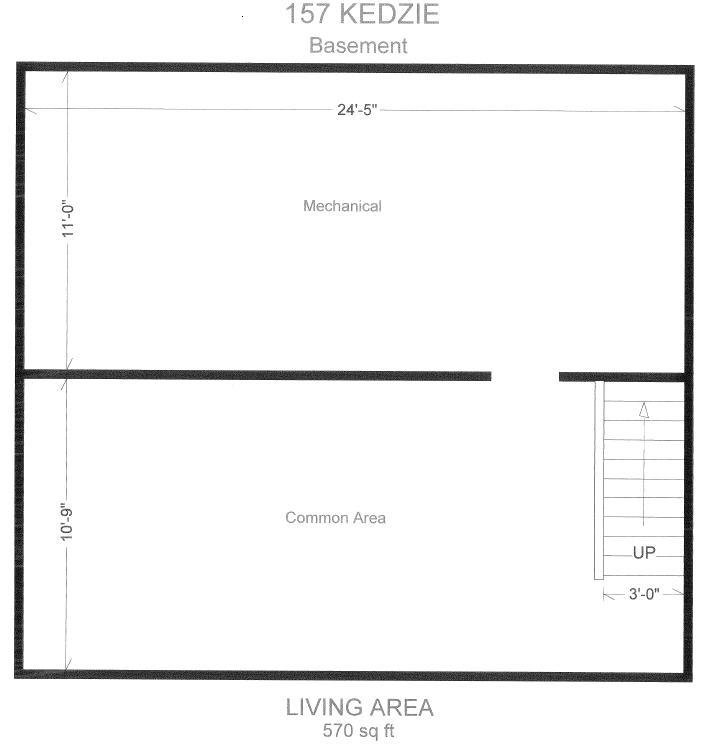 4 Bedrooms 1 Bathroom House for rent at 157 Kedize St. in East Lansing, MI