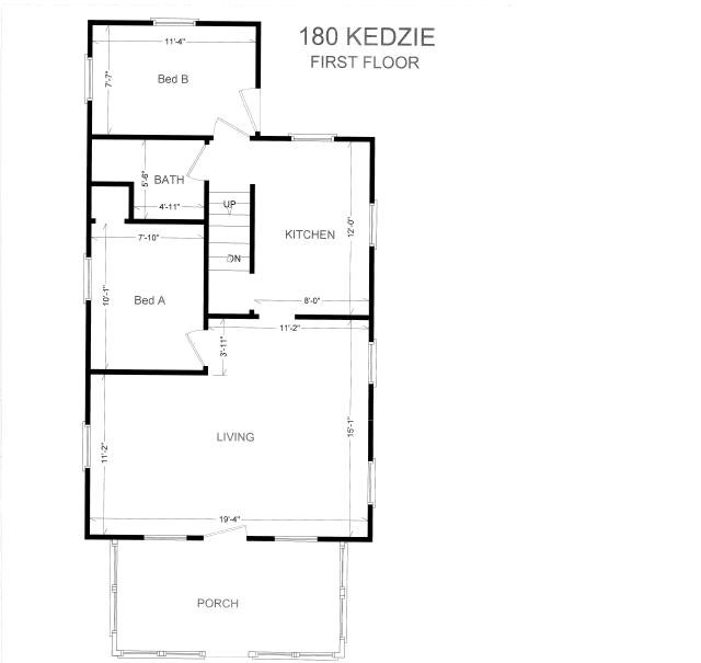 4 Bedrooms 1 Bathroom House for rent at 180 Kedize St. in East Lansing, MI