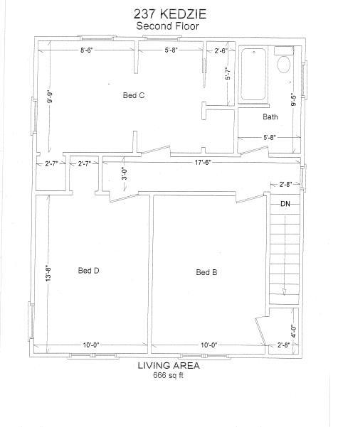 4 Bedrooms 2 Bathrooms House for rent at 237 Kedzie St. in East Lansing, MI