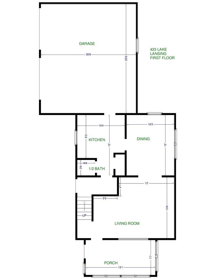 3 Bedrooms 1 Bathroom House for rent at 433 W Lake Lansing Rd in East Lansing, MI