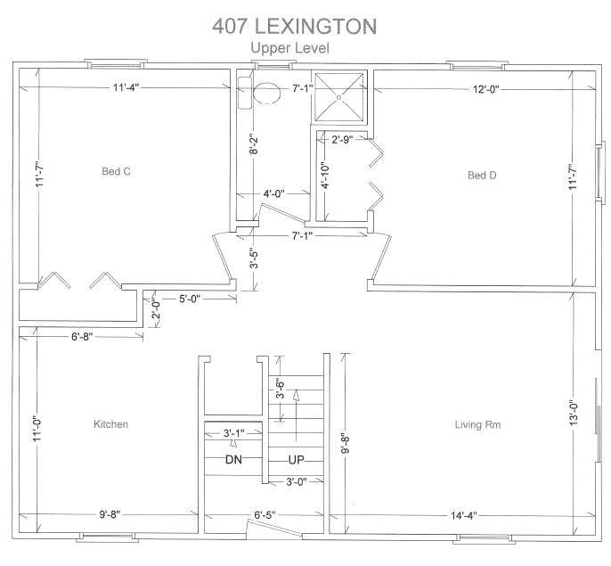 3 Bedrooms 2 Bathrooms House for rent at 403 Lexington Ave in East Lansing, MI