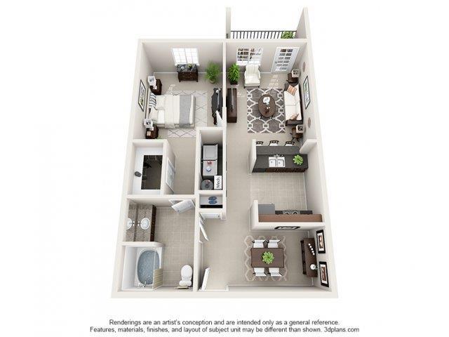 1 Bedroom 1 Bathroom Apartment for rent at Kilnsea Village Apartments in Summerville, SC