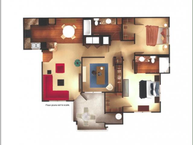 3 Bedrooms 2 Bathrooms Apartment for rent at Aria On Cave Creek Apartments in Phoenix, AZ