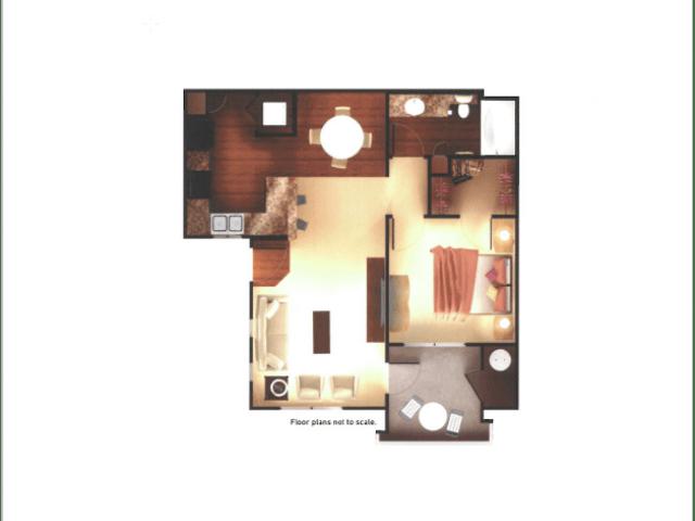1 Bedroom 1 Bathroom Apartment for rent at Aria On Cave Creek Apartments in Phoenix, AZ
