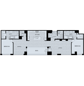 2 Bedrooms 2 Bathrooms Apartment for rent at The Quincy in Denver, CO