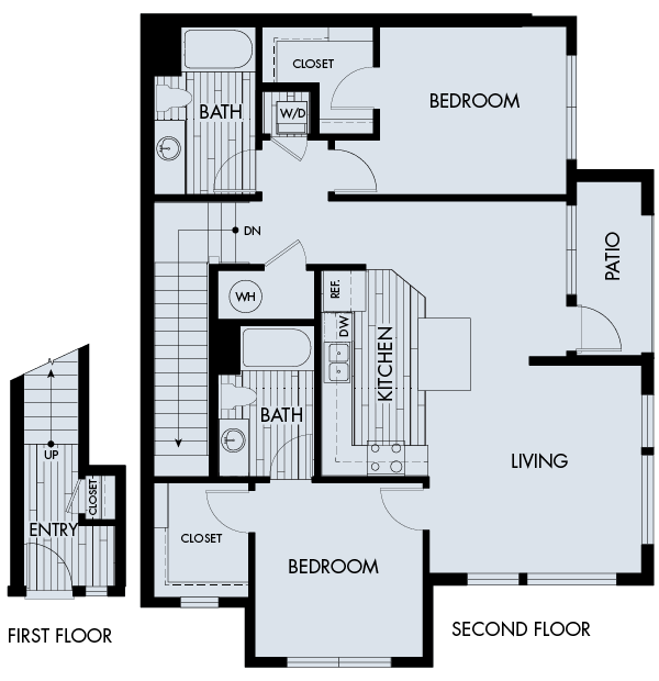 2 Bedrooms 2 Bathrooms Apartment for rent at Vela Meridian in Parker, CO