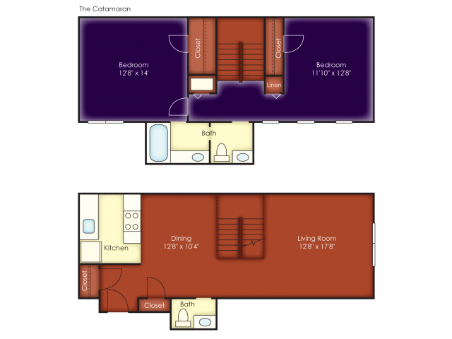 2 Bedrooms 1 Bathroom Apartment for rent at Windjammer Apartments in Charleston, SC
