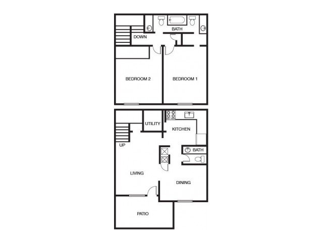 2 Bedrooms 2 Bathrooms Apartment for rent at The Bluffs At Epps Bridge in Athens, GA