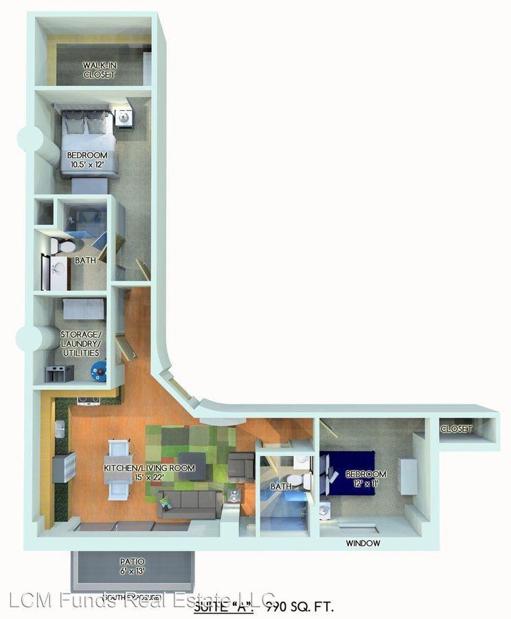 Studio 1 Bathroom Apartment for rent at 221 E Oregon Street in Milwaukee, WI