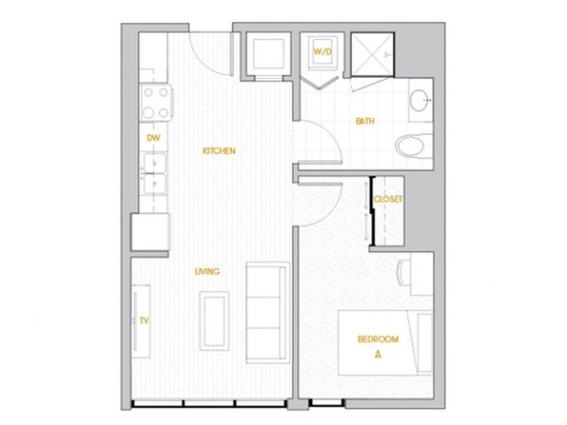1 Bedroom 1 Bathroom Apartment for rent at Rise On Apache in Tempe, AZ