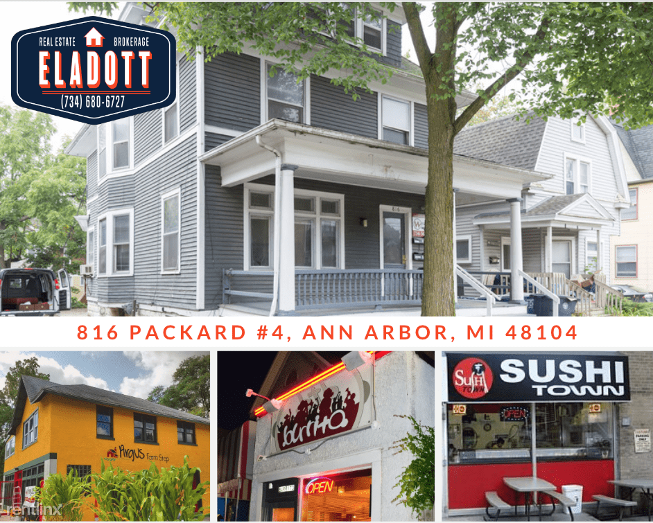 1 Bedroom 1 Bathroom Apartment for rent at 816 Packard St in Ann Arbor, MI