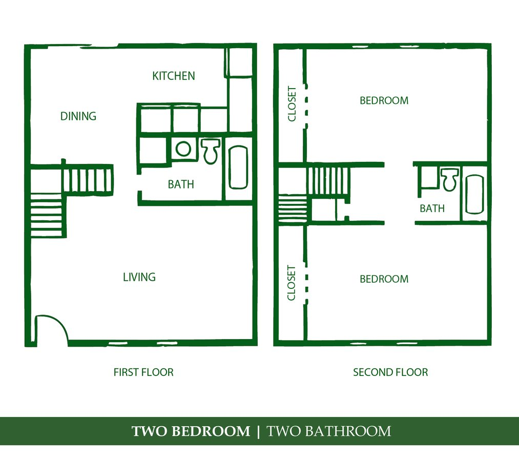 2 Bedrooms 2 Bathrooms Apartment for rent at Towne Parc in Gainesville, FL