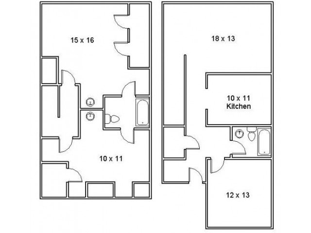 3 Bedrooms 2 Bathrooms Apartment for rent at Appalachian Homes in Morristown, TN