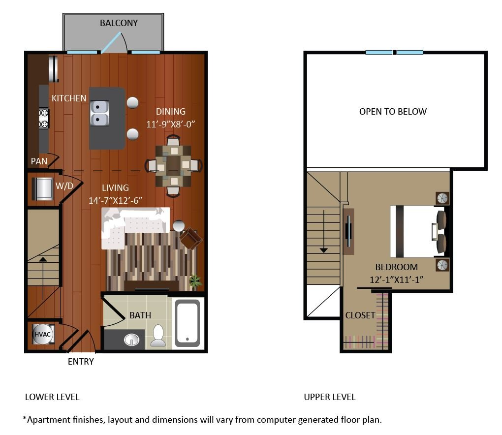 1 Bedroom 1 Bathroom Apartment for rent at Gables Upper Kirby in Houston, TX