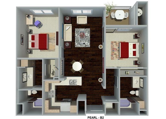 2 Bedrooms 2 Bathrooms Apartment for rent at Circa 2020 in Redlands, CA