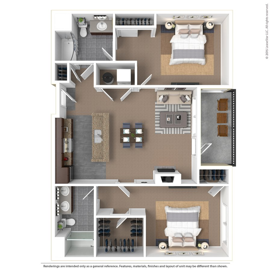 2 Bedrooms 2 Bathrooms Apartment for rent at Bridge Park in Dublin, OH