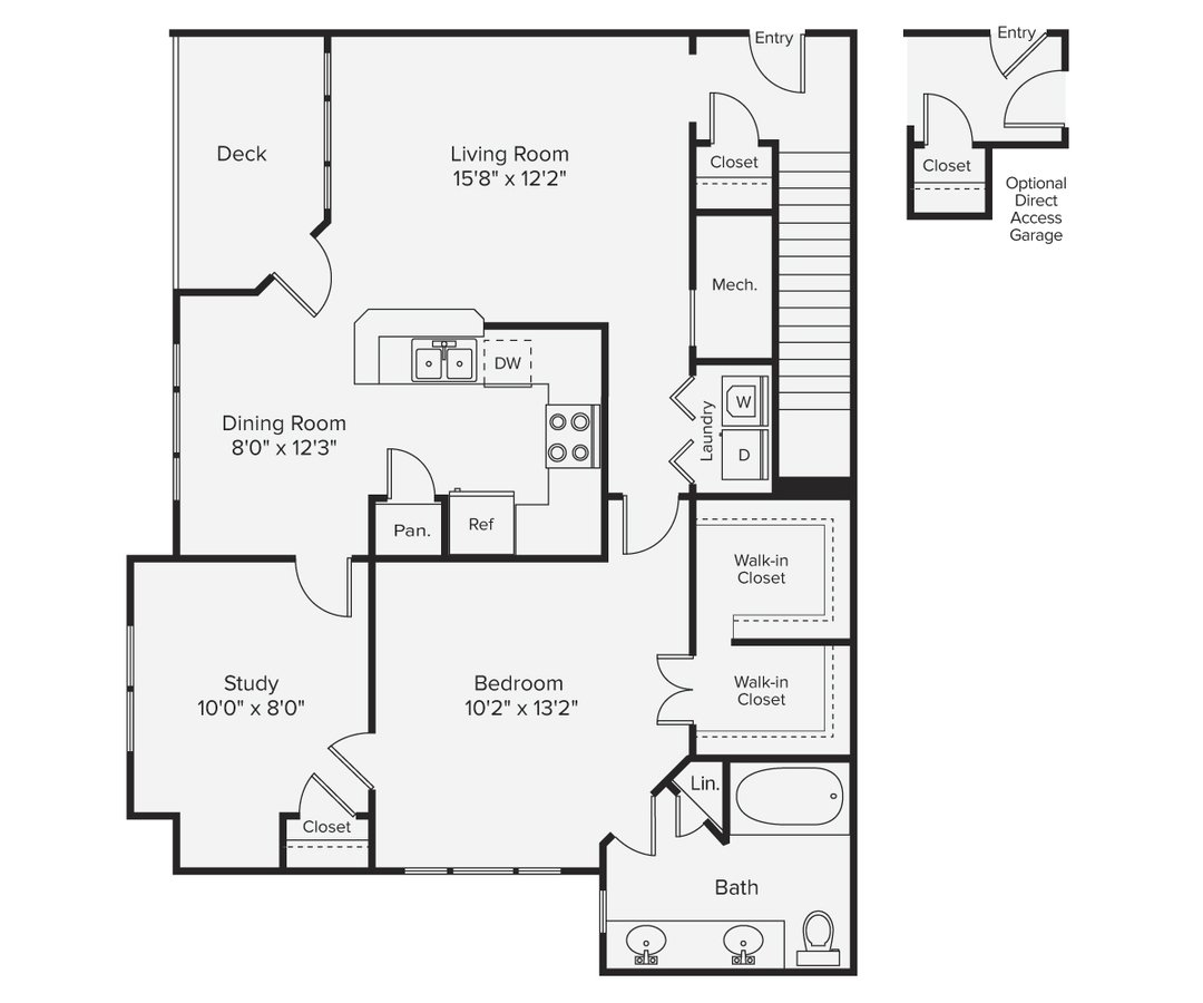 1 Bedroom 1 Bathroom Apartment for rent at Avalon Bear Hill in Waltham, MA