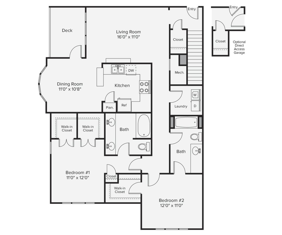 2 Bedrooms 2 Bathrooms Apartment for rent at Avalon Bear Hill in Waltham, MA