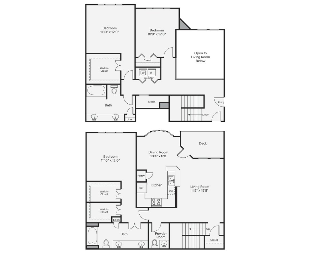 3 Bedrooms 2 Bathrooms Apartment for rent at Avalon Bear Hill in Waltham, MA