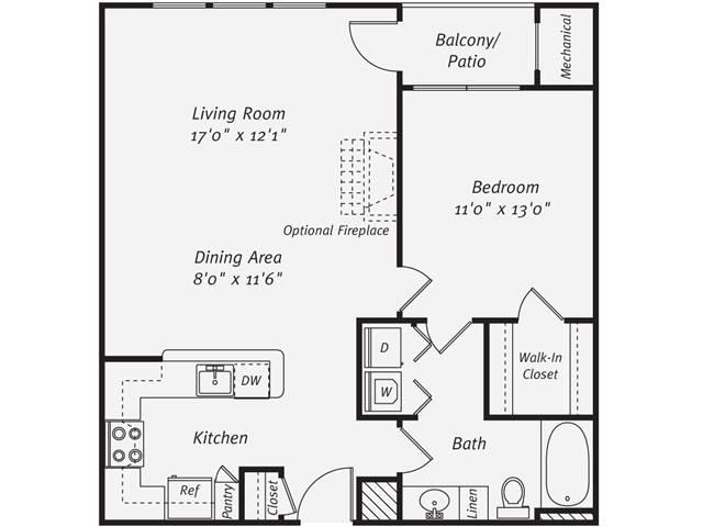 1 Bedroom 1 Bathroom Apartment for rent at Avalon Tysons Corner in Tysons Corner, VA