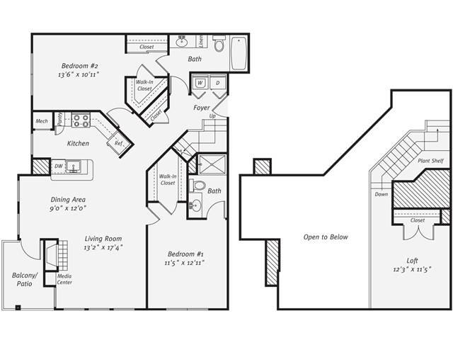 2 Bedrooms 2 Bathrooms Apartment for rent at Avalon Tysons Corner in Tysons Corner, VA