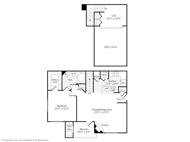 1 Bedroom 1 Bathroom Apartment for rent at Avalon Reston Landing in Reston, VA