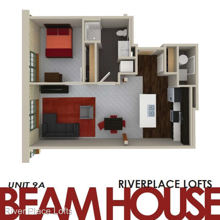 1 Bedroom 1 Bathroom Apartment for rent at River Place Lofts in Milwaukee, WI