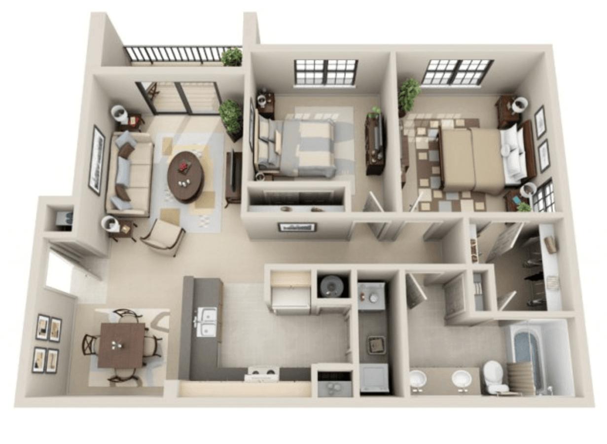 2 Bedrooms 1 Bathroom Apartment for rent at Lakeshore Ridge Apartments in Birmingham, AL
