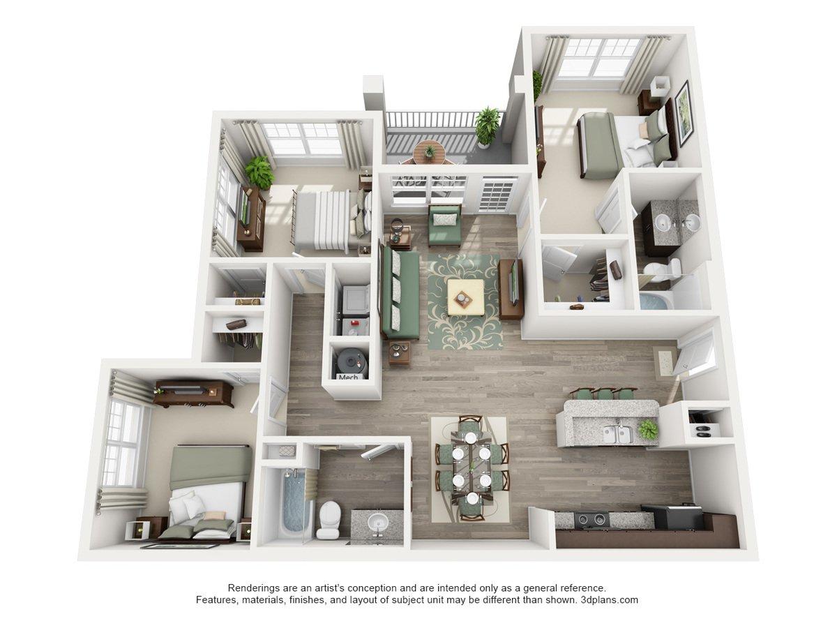 Admirable Century Afton Ridge Apartments Concord Nc Complete Home Design Collection Barbaintelli Responsecom