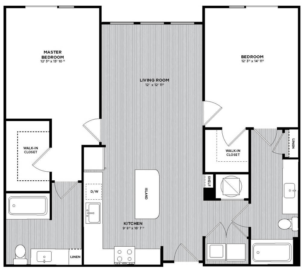 2 Bedrooms 2 Bathrooms Apartment for rent at Maitland Station in Maitland, FL