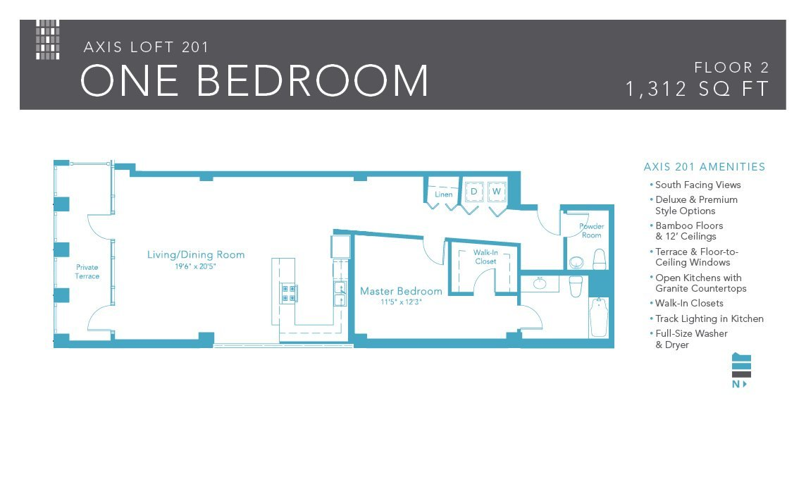 1 Bedroom 1 Bathroom Apartment for rent at Axis Apartments & Lofts in Chicago, IL