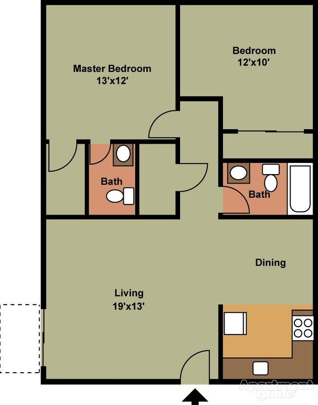 2 Bedrooms 2 Bathrooms Apartment for rent at Towerview/northbend Apartments in Cincinnati, OH