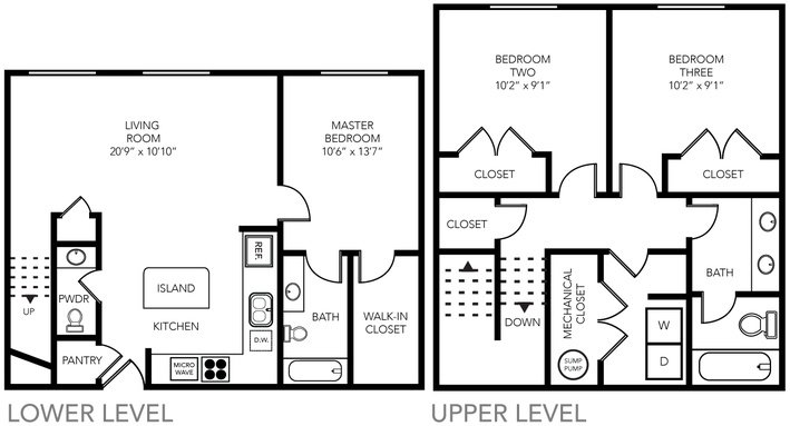 3 Bedrooms 3 Bathrooms Apartment for rent at State Street Village in Ann Arbor, MI