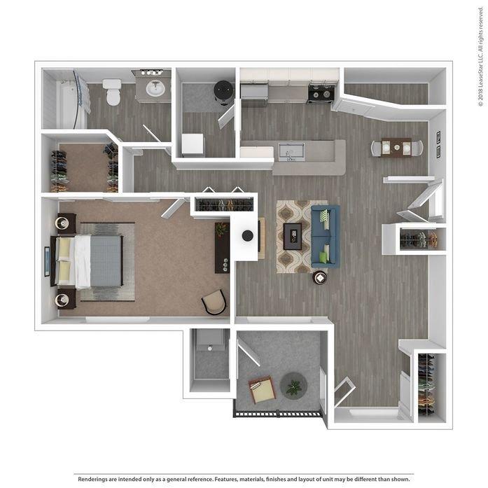 1 Bedroom 1 Bathroom Apartment for rent at Orion Main Street in Ann Arbor, MI