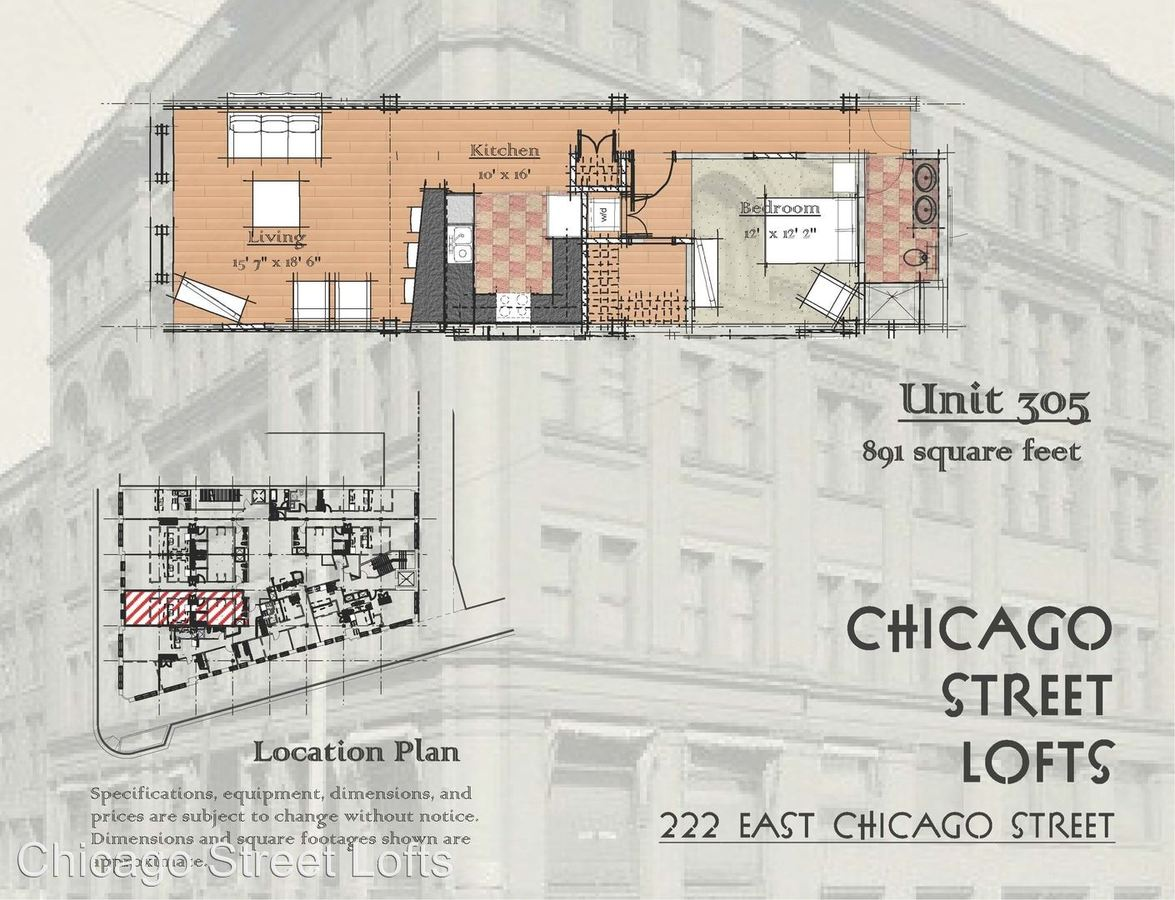 1 Bedroom 1 Bathroom Apartment for rent at Chicago Street Lofts in Milwaukee, WI