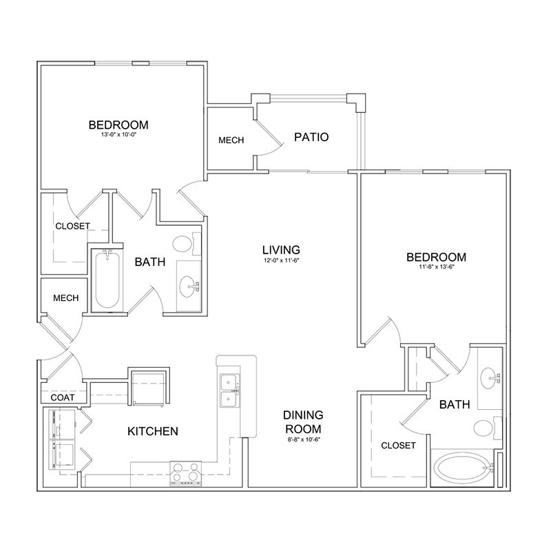 Studio 1 Bathroom Apartment for rent at The Park At Southwood in Tallahassee, FL