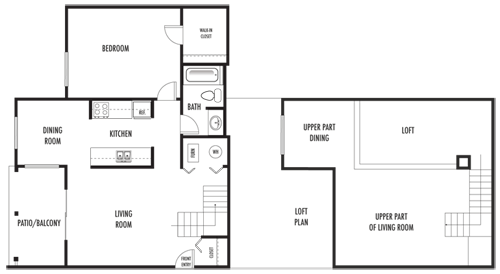 1 Bedroom 1 Bathroom Apartment for rent at Riverbend Apartments in Indianapolis, IN
