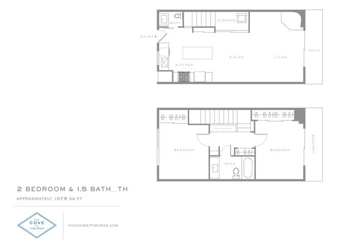 2 Bedrooms 1 Bathroom Apartment for rent at The Cove At Tiburon in Tiburon, CA