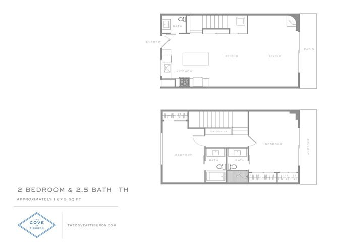 2 Bedrooms 2 Bathrooms Apartment for rent at The Cove At Tiburon in Tiburon, CA