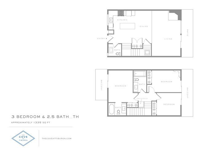 3 Bedrooms 2 Bathrooms Apartment for rent at The Cove At Tiburon in Tiburon, CA