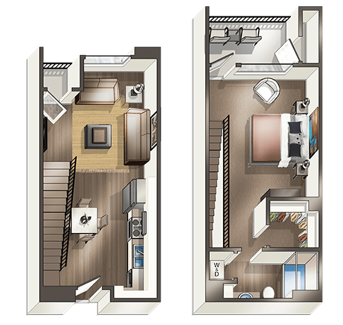 1 Bedroom 1 Bathroom Apartment for rent at Vive On The Park in San Diego, CA