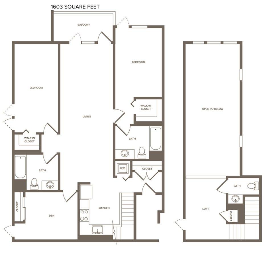 3 Bedrooms 2 Bathrooms Apartment for rent at Modera The Alameda in San Jose, CA