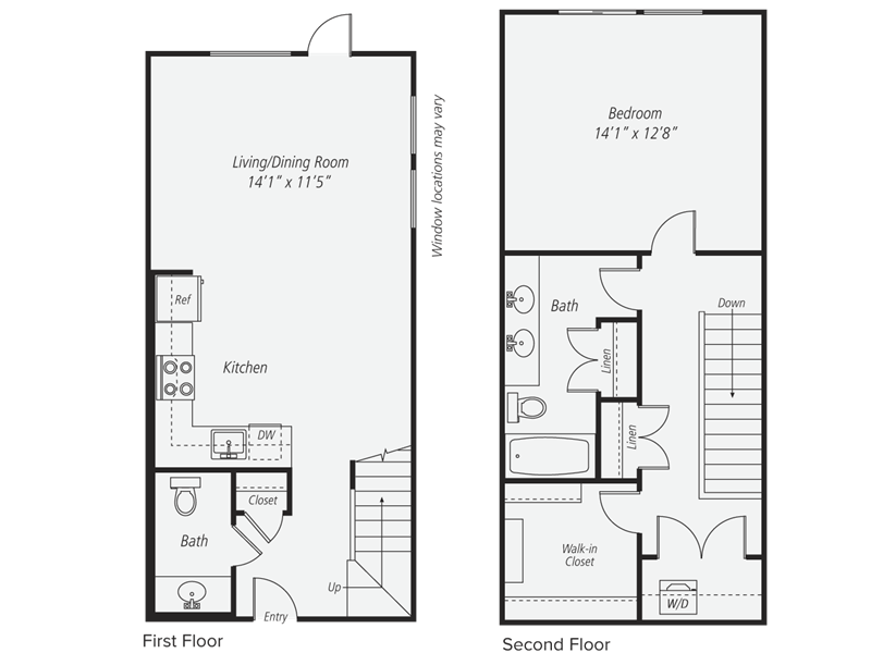 1 Bedroom 2 Bathrooms Apartment for rent at Avalon Morrison Park in San Jose, CA