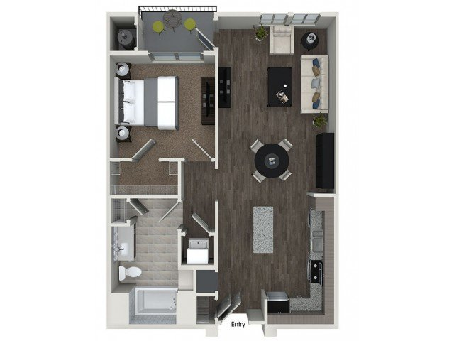 1 Bedroom 1 Bathroom Apartment for rent at 808 West in San Jose, CA