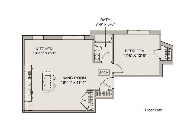 1 Bedroom 1 Bathroom Apartment for rent at The Ogontz in Philadelphia, PA